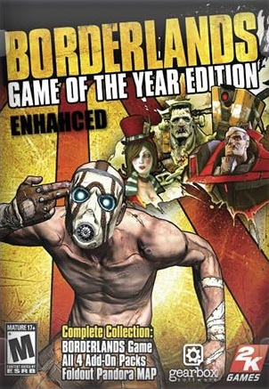 Borderlands Remastered [v.1.0 Game of the Year Enhanced] (2019/PC/Английский), Лицензия