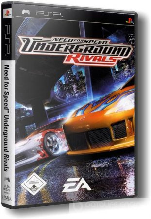 Need for Speed: Underground Rivals (2005/PSP/Русский)