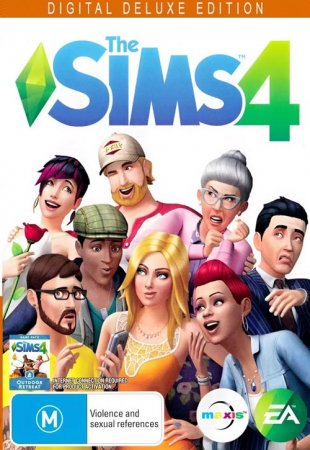 The Sims 4: Deluxe Edition [v 1.51.75.1020] (2014/PC/Русский), RePack от xatab