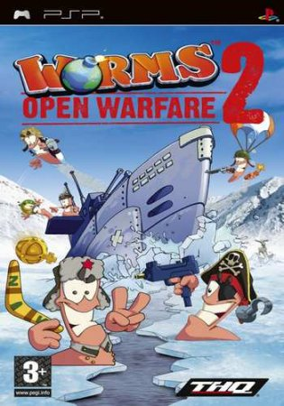 Worms Open Warfire 2 (2007/PSP/ISO/Eng)